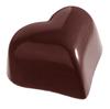 チョコレート型ハート